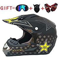 Adulto Motocross Casco MX Moto Casco ATV Scooter
