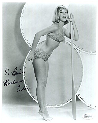 BARBARA EDEN HAND SIGNED 8x10 PHOTO+ YOUNG+VERY SEXY POSE TO BRIAN - JSA Certified ()