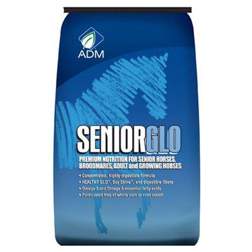 ADM Alliance Nutrition 10130AB 50 lbs. SeniorGlo Horse Feed Pellets