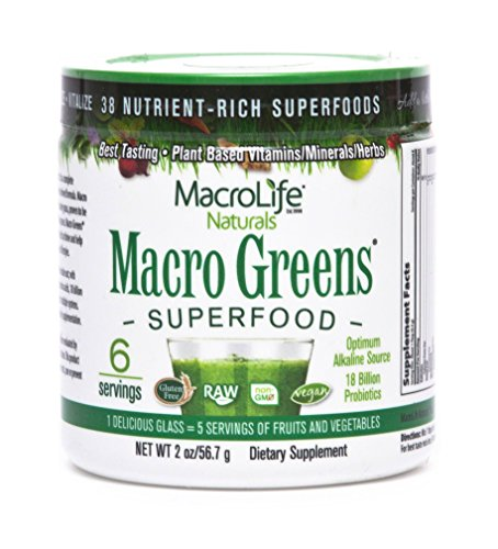 Price comparison product image MacroLife Naturals Macro Greens (2 Ounces - 6 Servings)