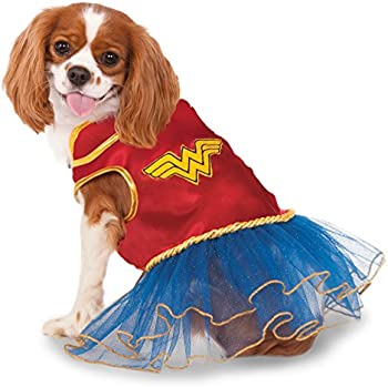 Rubies Costume Co Wonder Woman Pet Tutu Dress