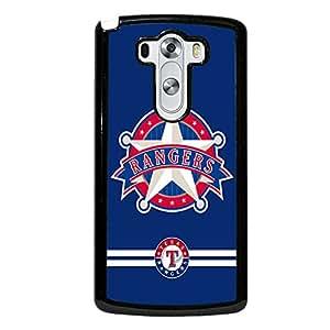 Michael Kruse(TM) LG G3 Case Slim Clear MLB Texas Rangers Baseball Team Logo Sports Design Hard Tpu Slim Fit Protective Phone Accessories Case Cover for Men