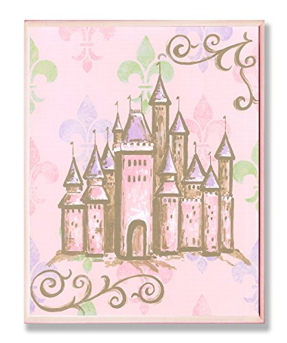 The Kids Room by Stupell Castle with Fleur De Lis Wall Plaque, 13 x 19