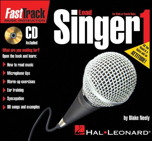Hal Leonard FastTrack Mini Lead Singer Method Book 1 Book/CD ()