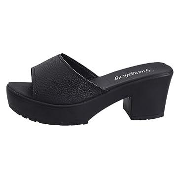 Summer Wedges Slippers Women Fashion High Heels Platform Black or White Causal Flip Flops Beach Shoes
