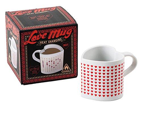 "Love Mug Heat Sensitive Cup Reads ""I Love You"" with Hot Drin"