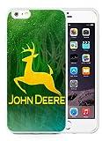 John Deere 11 White Phone Case for 6S Plus Plus 5.5 Inch,iPhone 6 Plus TPU Case