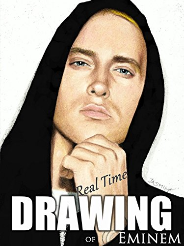 Real time drawing of Eminem by