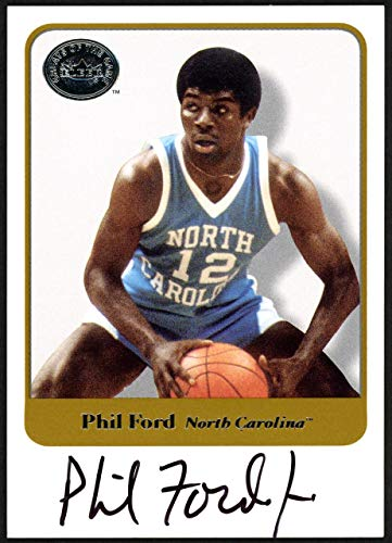 4293b99ee1c Phil Ford Autographed 2001 Fleer Greats Of The Game Card UNC Tar Heels SKU   148178
