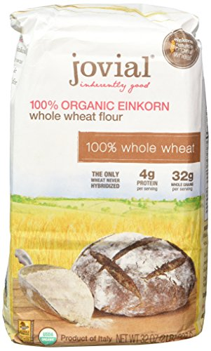 Jovial 100% Organic Einkorn Whole Wheat Flour 32oz by Jovial