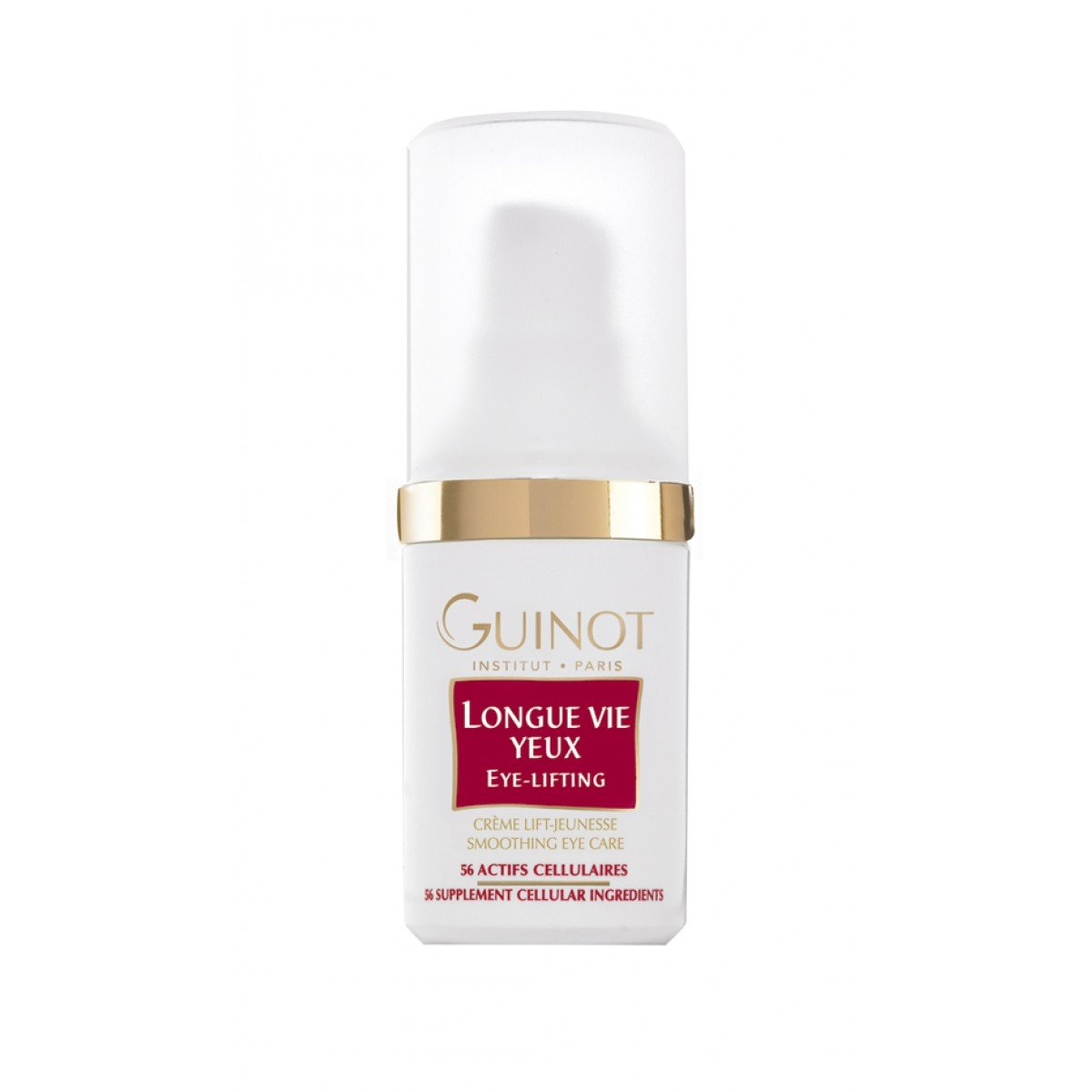 New Guinot Longue Vie Yeux Eye Lifting Cream For Eye Wrinkles/lines 15ml by Guinot