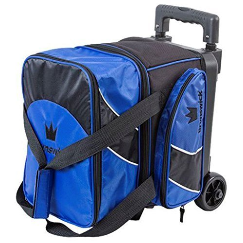 Brunswick Edge Single Roller Bowling Bag, Blue