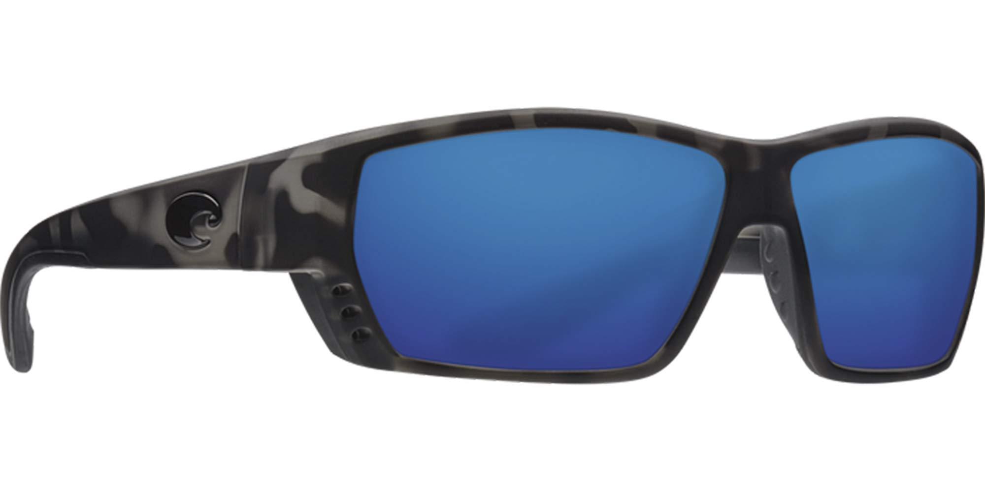 Costa Del Mar Ocearch Tuna Alley 580G Sunglasses- Tiger Shark/Blue Mirror by Costa Del Mar