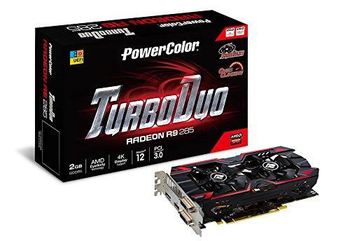 PowerColor AXR9 285 2GBD5-TDHE ATI Radeon R9 285 Grafikkarte (PCI-e, 2GB GDDR5-Speicher, DVI-I/-D, HDMI, DisplayPort, 1 GPU)