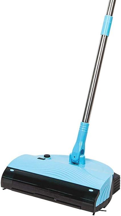 QWE Power Sweeper Barredora eléctrica Trapeadora Aspiradora doméstica Aspiradora Escoba Perezosa, artefacto de Barrido para la Oficina en el hogar, etc.: Amazon.es: Hogar