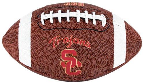 Ncaa Trojans Football - NCAA Game Time Full Size Football , USC Trojans, Brown, Full Size