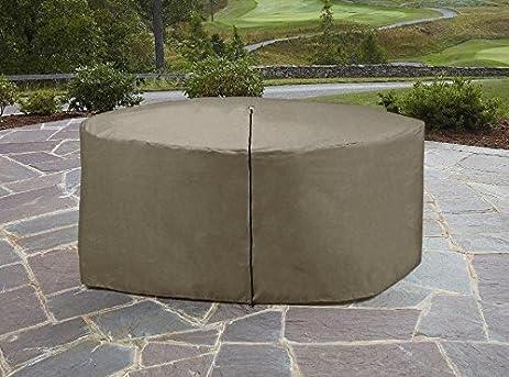 Amazoncom Garden Oasis Oversize Round Furniture Cover Outdoor