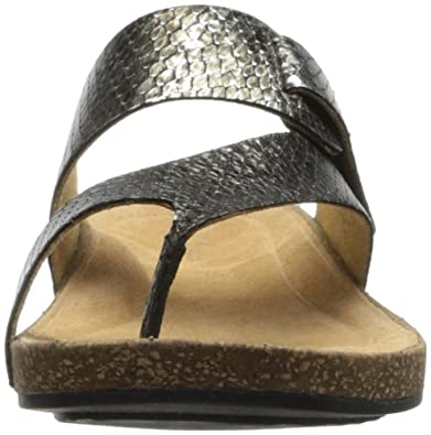 55da2c4e3d589 Clarks Women's Perri Coast Wedge Sandal, Pewter, 6 M US: Amazon.co.uk: Shoes  & Bags