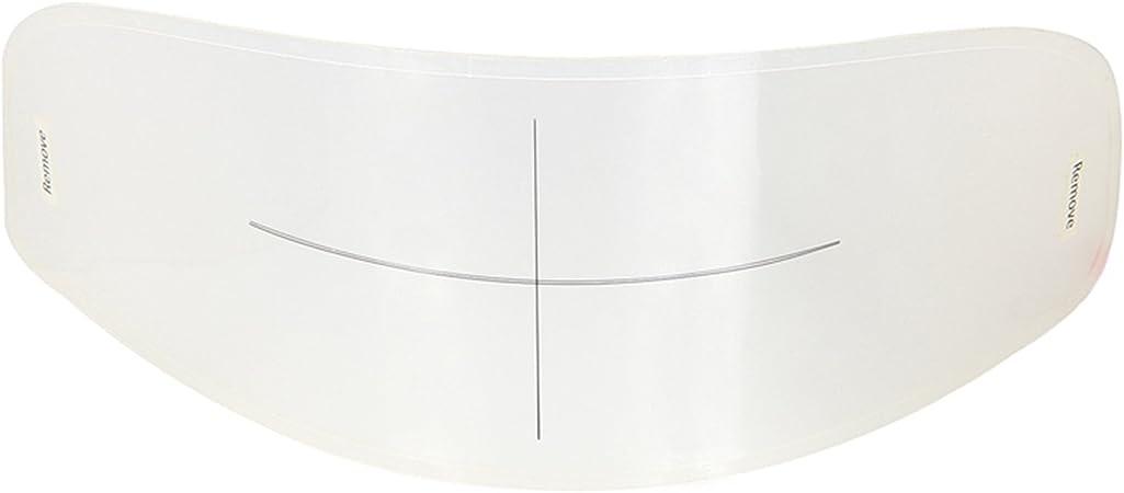 standard con inserto per lenti trasparente WeePro Pellicola protettiva anti-appannamento per visiera anti-appannamento trasparente