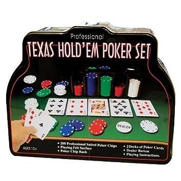 Texas Holdem Poker Set - 206 piece by Texas Holdem Poker