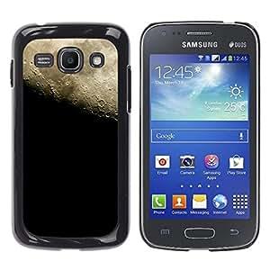 Arena cementada Cielos - Metal de aluminio y de plástico duro Caja del teléfono - Negro - Samsung Galaxy Ace 3