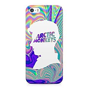 Alex Turner Head Holographic Logo Hard Plastic Snap-On Case Cover For iPhone 5 and iPhone 5s