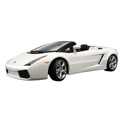 Maisto 1:18 Scale White Lamborghini Gallardo Spyder