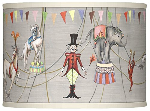 Circus Lamp - Circus Time Giclee Lamp Shade 13.5x13.5x10 (Spider)