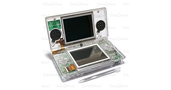 Amazon.com: ValueDeluxe Custom Clear Transparent Nintendo DS ...