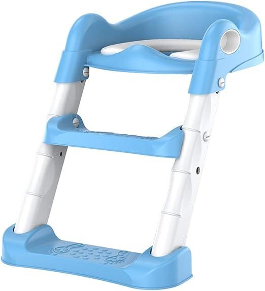 Xiao Jian- Escalera de baño Aseo Aseo Aseo Mujer Escalera Aseo Aseo Niño Asiento Cojín Cojín Niño Bebé Baño de niños: Amazon.es: Hogar