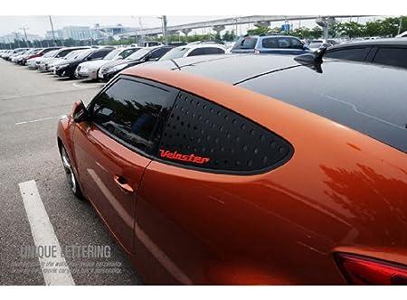 exLED trasera ventana Panel letras deportes placa de cristal ver. 2 C pilar 1-PC para 2011-2014 Veloster: Amazon.es: Coche y moto