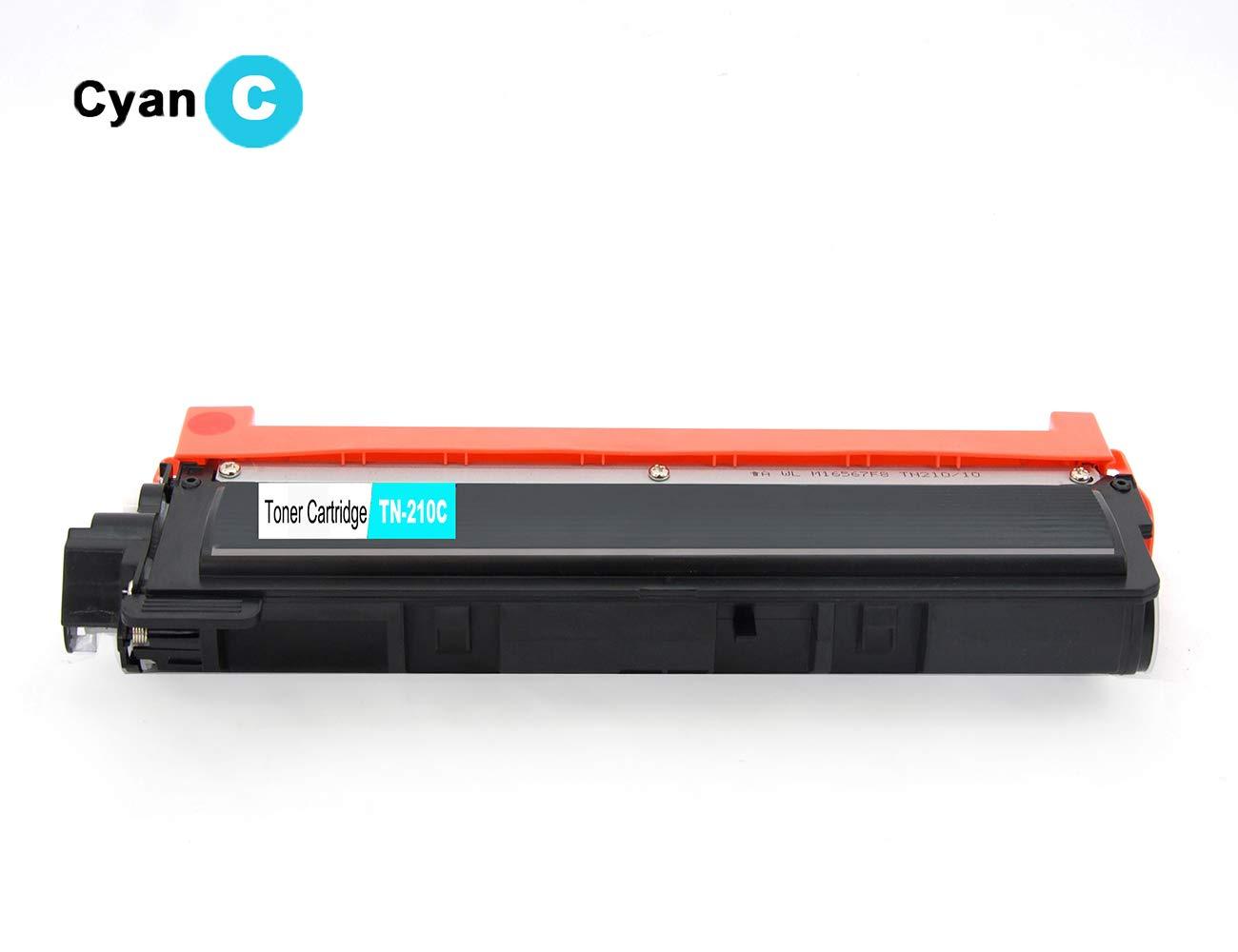PayForLess TN210 Toner Cartridge 4PK For Brother HL-3040CN ...