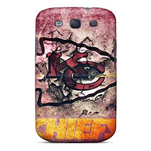 Durable Defender Case For Galaxy S3 Tpu Cover(kansas City Chiefs)