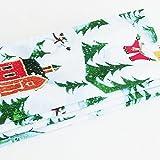 Country Primitive Snowy Winter Napkins / Set of 4 / ME2Designs Handmade Cotton Napkins