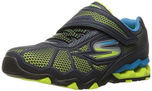 Skechers Kids Boys' Hydro-Static-Stellar Blast Sneaker,Navy/Blue,1.5 M US Little Kid