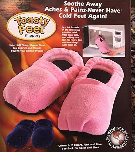 Zapatillas microondas calienta pies color ROSA ®: Amazon.es: Hogar