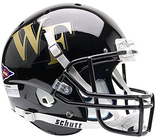 Schutt Wake Forest Demon Deacons Full XP Replica Football Helmet - NCAA Licensed - Wake Forest Demon Deacons Collectibles ()