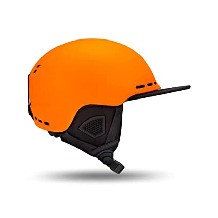 Moolo Casco Casco De Esquí Y Snowboard, Gorra Protectora De Seguridad De Esquí Patineta Casco
