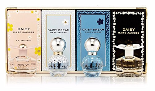 Marc Jacobs 4 Piece Daisy Variety Perfume Mini Set ()