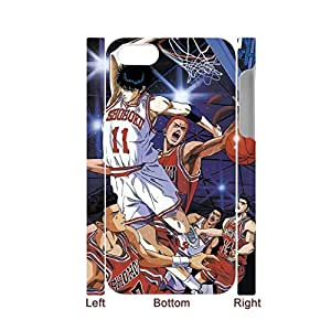 Generic Hipster Back Phone Covers For Kids Custom Design With Slam Dunk For Iphone 4 4S Full Body Choose Design 1-3