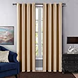 Best Cushion Cases Of Color Blocks - Dreaming Casa Grommet Top Solid Blackout Curtain Drapes Review