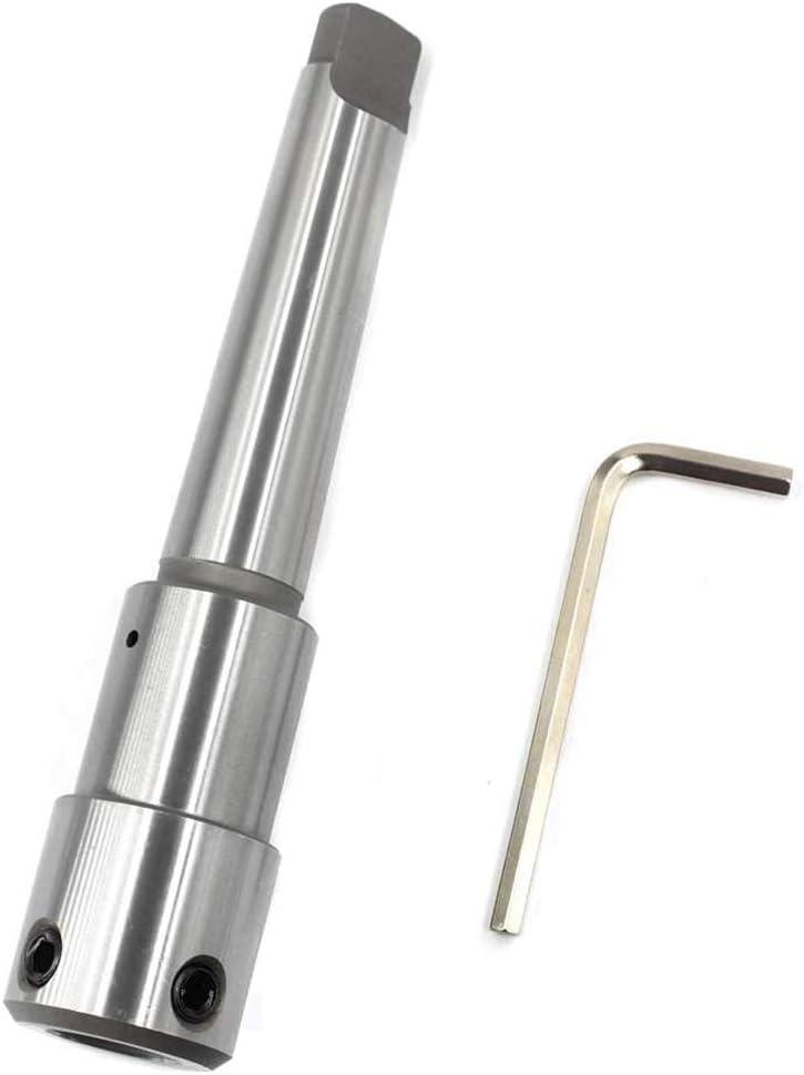 JVSISM Ringschneider Dorn mit Morsekegel MT3 f/ür 1,91 cm Weldon-Schaft Ringschneider Verl/ängerung auf Bohrmaschine