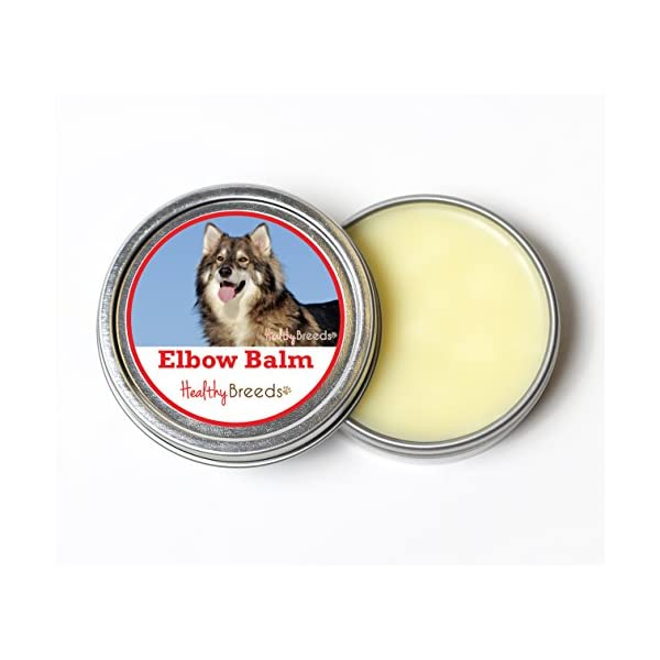 Healthy Breeds Elbow Nose & Paw All-Natural Butter Balms - Over 200 Breeds - Organic Oils to Hydrate & Heal - Unscented Formula - 2 oz 1