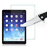 For iPad Pro 10.5 inch(2017), Bluwee [Anti-Blue Light 0.33mm Thickness] Premium Tempered Glass Tablet Screen Protector Film - 2.5D Round Edge, High Definition, Anti-Scratch, Bubble Free