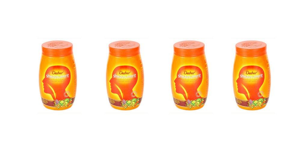 Dabur Shwaasamrit For breathlessness - Economy Pack 800g (8 x 100g) - Free Shipping by Dabur