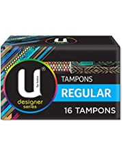 U by Kotex Sport Tampons, Regular, Pack of 16