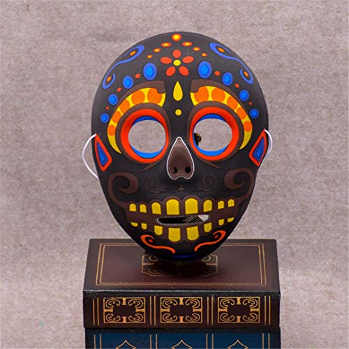 Halloween Skull Mask Painted Peking Opera Mask Fullface