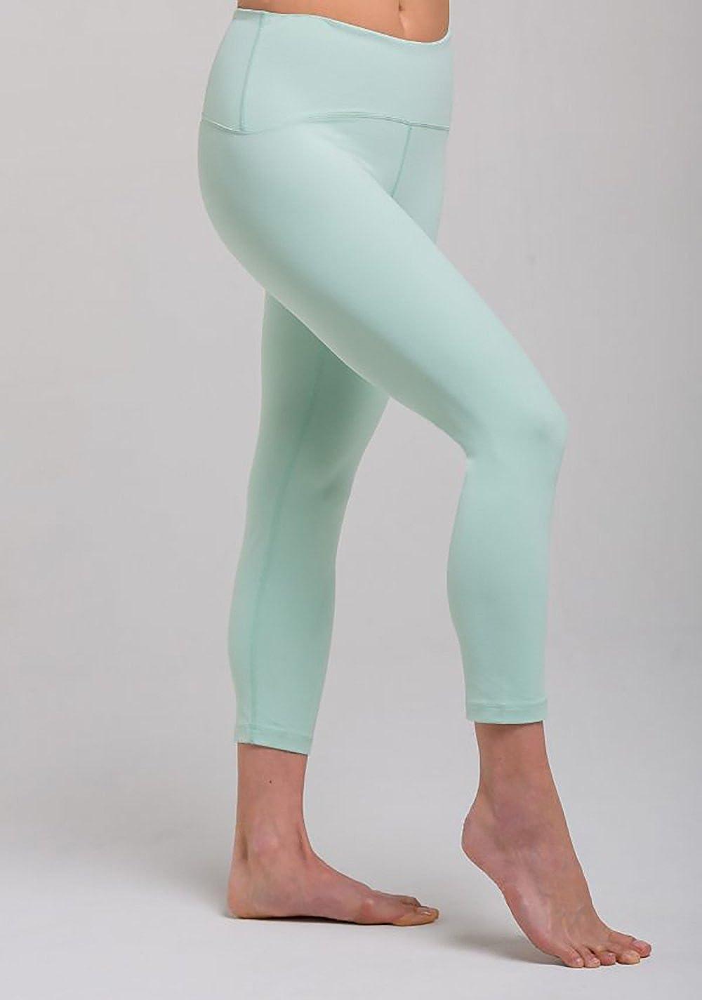 Amazon.com: tanya-b Womens Yoga Three-Quarter Legging Pants ...