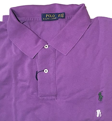 Polo Ralph Lauren Men's Big & Tall Classic Fit Weathered Cotton Mesh Polo Shirt (3X Big, Seville - Ralph Discount Lauren