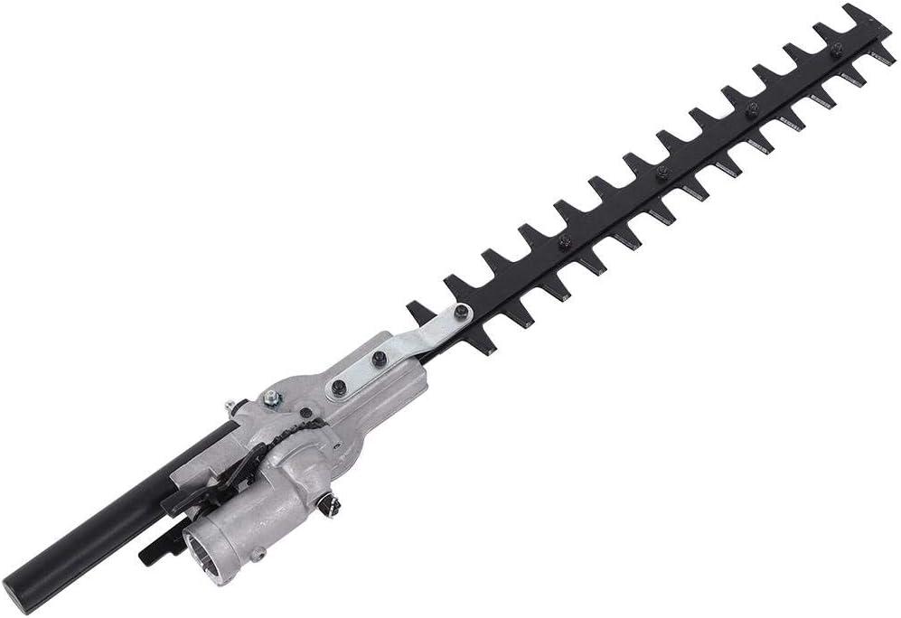 Hongzer Cortadora de Corte, cortadora de Corte de setos de jardín de Aluminio con Herramienta de Cepillo de Cobertura Universal de 9 Dientes para Cabezal de Potencia 139/140/GX35, 26 mm